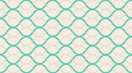 Vintage vector pattern. Classic delicate geometry design. Color mosaic shapes background. Seamless vector pattern. Ilustração