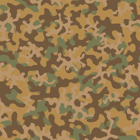 Nahtlose Tarnmuster. Abstrakter exotischer Trend mit floralem Militärhintergrund. Camouflage nahtloses Muster für Armee, Marine, Jagd, Mode-Stoff-Textil. Farbe moderner Soldat. Vektor-Gewebe-Textur.