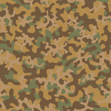 Seamless camouflage pattern. Abstract exotic trend floral military background. Camouflage seamless pattern for army, navy, hunting, fashion cloth textile. Color modern soldier . Vector fabric texture.