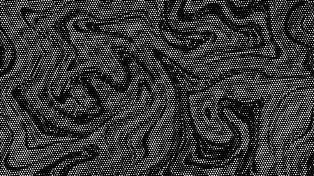 Halftone marble texture background.Abstract black and white dot art backdrop.Modern grayscale pattern,business cover background design.Vector