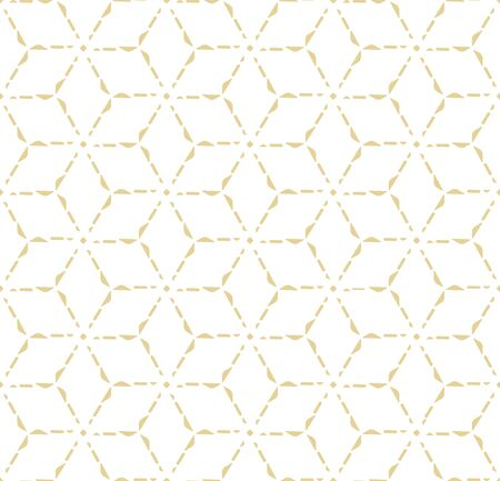 Continuous Vintage Vector Thirties Lattice Pattern. Seamless Minimal Graphic Artdeco Grid Texture. Repetitive Fashion Great Shapes Pattern. Islamic Array Texture.