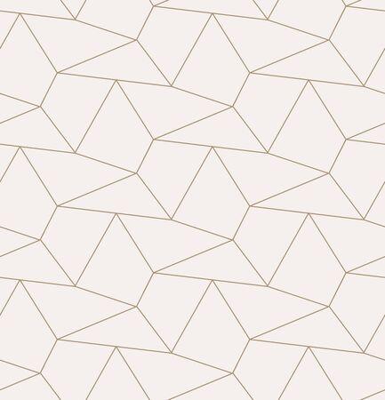 Continuous Monochrome Graphic Diagonal Plexus Pattern. Seamless Decorative Vector, Cell Lattice Texture. Repetitive Black Triangular, Print Texture. Ornament Backdrop Pattern