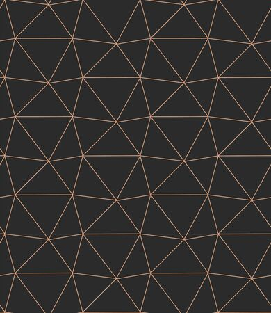 Seamless Tileable Graphic Triangle Grid Texture. Repeat Simple Vector, Hexagon Pattern Pattern. Repetitive Fabric Triangular, Repeat Texture. Geometric Art Pattern