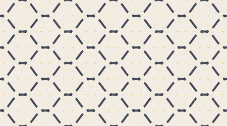 Vintage pattern.  Classic delicate geometry design.  Color mosaic shapes background. 向量圖像
