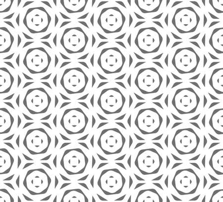 Seamless Ramadan Graphic Hexagon, Art Texture. Continuous White Continuous Print Pattern. Repetitive Wave Cell, Tile Texture. Black Array Pattern Illustration