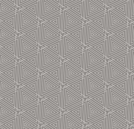 Continuous Ornament Vector Symmetrical, Art Pattern. Repeat Simple Graphic Web Shapes Texture. Seamless Fashion Geo, Print Texture. Tileable Repeat Pattern