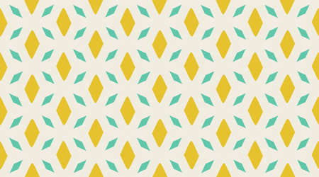 Vintage vector pattern.  Geometric fashion fabric print.  Creative luxry graphic art decor. Seamless vector pattern.