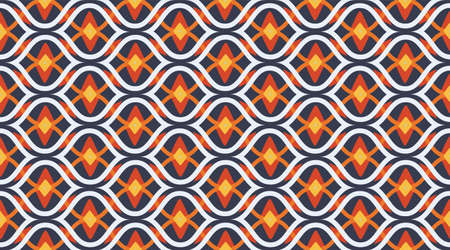 Arabic pattern background.  Geometric fashion fabric print.  Creative luxry graphic art decor. Seamless vector pattern.