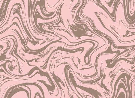 Black Seamless Grunge Paint Oil. Magenta Repeat Fluid Graphic Backdrop. Purple Pink Gouache Vector Flow. Pastel Pink Color Paint Effect. Repeat Illustration.