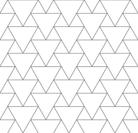Continuous Monochrome Vector Web, Plexus Texture.  イラスト・ベクター素材