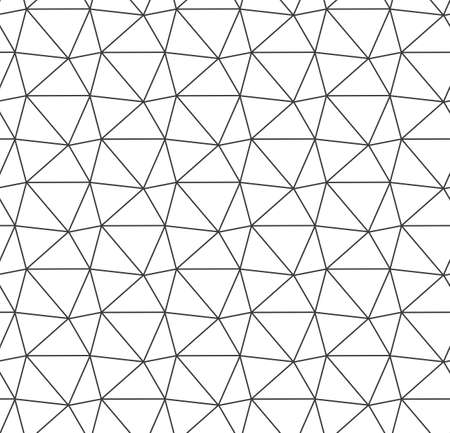 Seamless Tileable Vector Triangle Tile Texture.  イラスト・ベクター素材