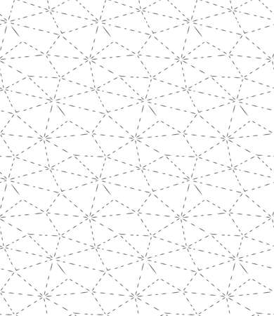 Repeat Tileable Graphic Geo Array Pattern.