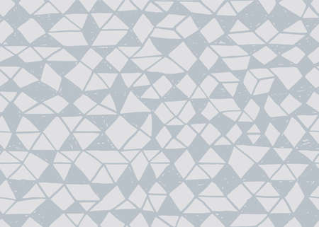 Doodle seamless pattern. Triangle geometric background. Scribble texture. Fashion textile fabric or print. Modern grunge line design. fabric vector pattern.
