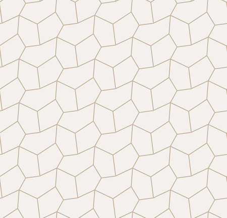 Repeat Tileable Graphic Polygon Tile Texture. Seamless Creative Vector, Cell Textile Pattern. Repetitive East Triangular, Backdrop Texture. Line Repetition Pattern