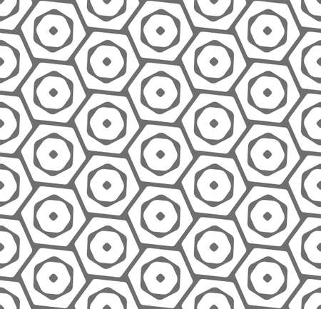 Continuous Simple Vector Web, Array Pattern. Repeat Ramadan Graphic Poly Repetition Texture. Seamless Modern Cell, Swatch Pattern. Linear Wallpaper Texture  イラスト・ベクター素材