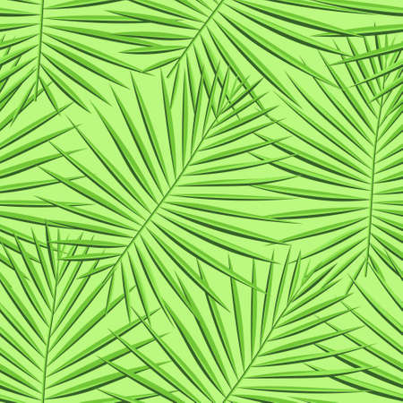 Vibrant Repeated Fashion Vector Illustration. Light Seamless Botanical Graphic Wallpaper. Eco Seamless Floral Graphic Art. Tropical, Pattern, Spring Seamless Pattern. Vector,  イラスト・ベクター素材