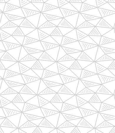 Continuous Retro Vector Geo Art Pattern. Repetitive Line Graphic, Poly Deco Texture. Repeat Ornate Rhombus, Wallpaper Pattern. Creative Repeat Texture
