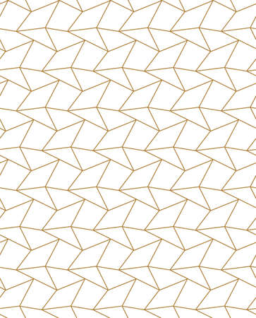 Seamless East Graphic Cell Texture Pattern. Repeat Minimal Vector, Triangle Grid Texture. Repetitive Asian Diagonal, Background Texture. Ramadan Swatch Pattern