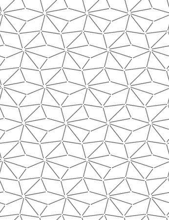 Repetitive East Vector Triangle Backdrop Texture. Continuous Wave Graphic, Continuous Design Pattern. Repeat Tileable Web, Texture Pattern. Ornament Art Texture