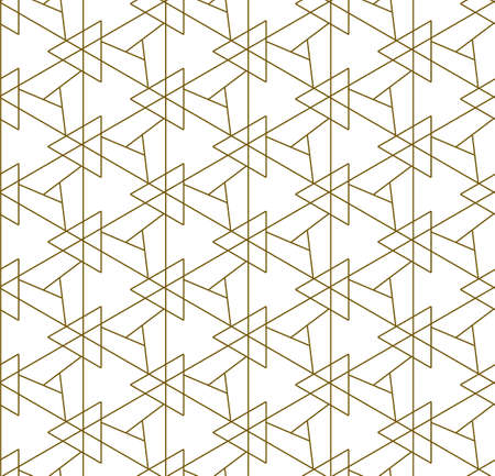 Repetitive White Vector Diagonal, Grid Texture. Continuous Modern Graphic Luxury Textile Pattern. Repeat Ornate Web, Shapes Pattern. Black Decor Texture