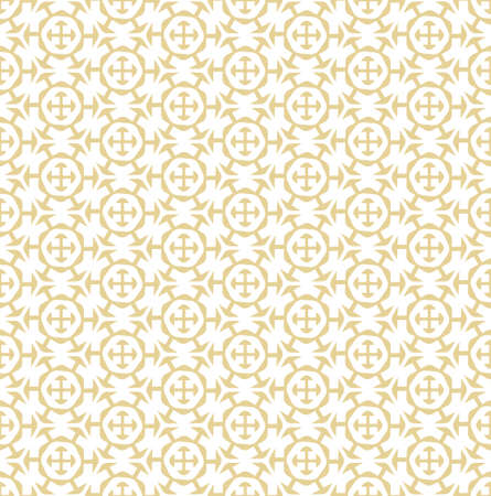 Continuous Asian Vector Technology, Background Pattern. Seamless Elegant Graphic Symmetrical Pattern Texture. Repetitive Vintage Hexagon, Plexus Texture. Islamic Textile Pattern
