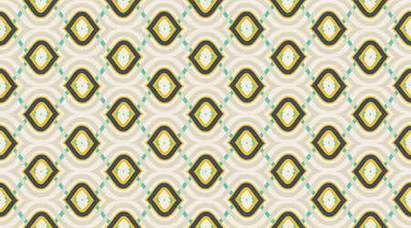 Vintage pattern background.  Delicate beautiful ornament.  Repeating tile interior design background.  Seamless vector pattern.