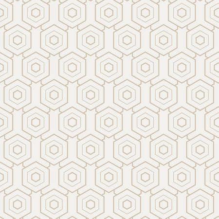 Continuous Islamic Vector Hex, Backdrop Pattern. Seamless Line Graphic Rhombus Plexus Texture. Repeat Geometric Continuous, Pattern Pattern. Monochrome Repeat Texture