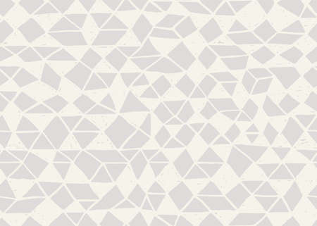 Doodle seamless pattern. Triangle geometric background. Scribble texture. Fashion textile fabric or print. Modern grunge line design. triangle vector pattern.