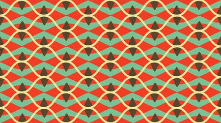 Arabic pattern background.  Delicate beautiful ornament.  Repeating tile interior design background.  Seamless vector pattern. Illustration