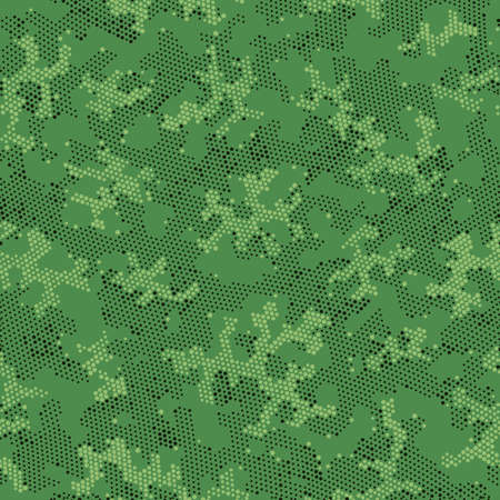 Seamless Vector Patterd Design.  Seamless Vector Beige Spots, Camo Wallpaper. Green Seamless Monochrome Camouflage, Vector Clouds. Brown Repeated Army Camouflage, Graphic Print.