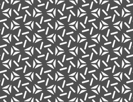 Continuous Elegant Vector Continuous Print Texture. Seamless Monochrome Graphic Great Art Pattern. Repetitive Black Thirties Wallpaper Texture. Ornate Tile Pattern.
