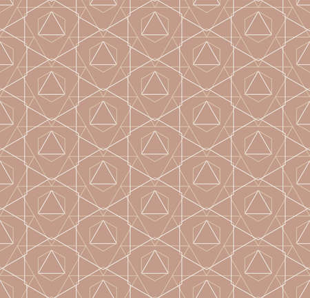Repeat Abstract Vector Continuous, Grid Pattern. Repetitive Modern Graphic Rhombus Lattice Texture. Seamless Retro Poly, Backdrop Pattern. Creative Shapes Texture Illustration