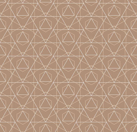 Repetitive Decorative Vector Rhombus, Swatch Pattern. Repeat Simple Graphic Honeycomb Print Texture. Seamless Retro Web, Textile Texture. Ornate Repeat Pattern