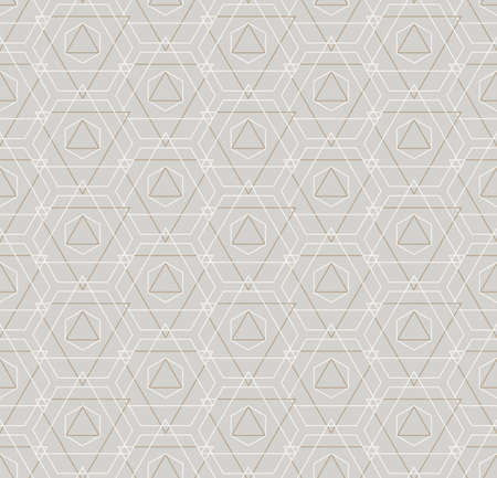 Continuous Modern Vector Web, Repeat Texture. Repeat Linear Graphic Technology Deco Pattern. Repetitive Classic Hex, Wallpaper Texture. Islamic Plexus Pattern