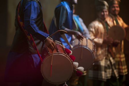 Bhangra Drum and kompang