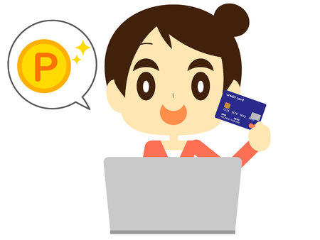 Card points to save on online shopping women