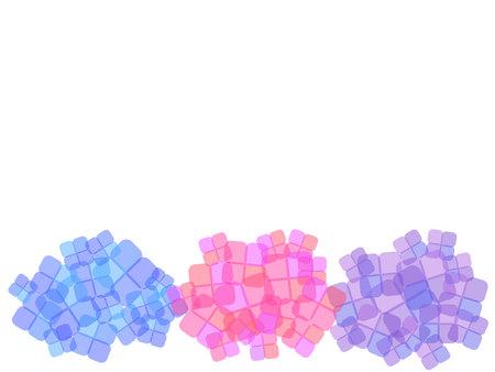 Cute hydrangea background
