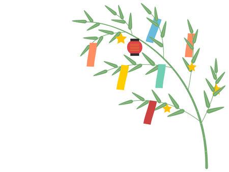 Tanabata Festival Zen Illustration