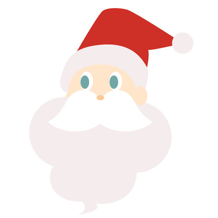Illustration of a cute Santa Claus