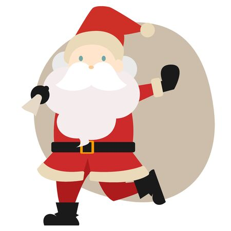 Hand drawn Christmas motif illustration set