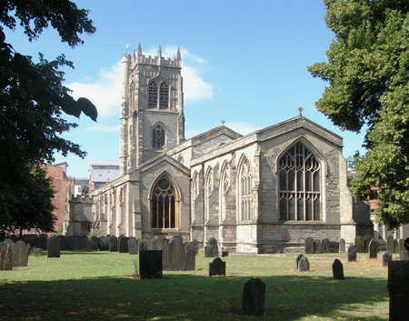 leicester: St Margarets church in Leicester