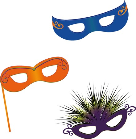 carnival costume: Masks