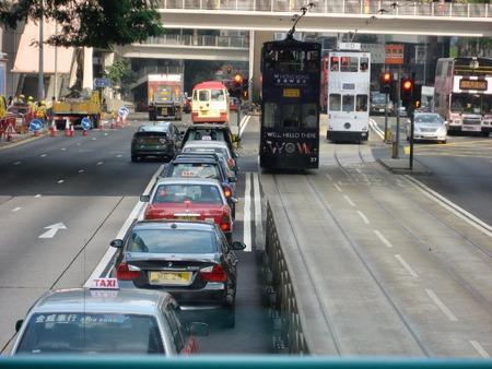 Tram van Hong Kong