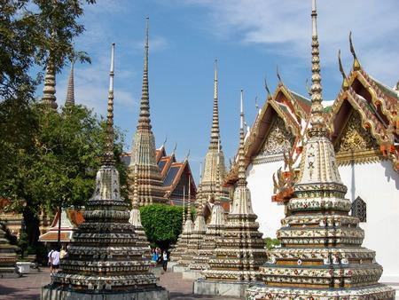バンコク チェディ寺院