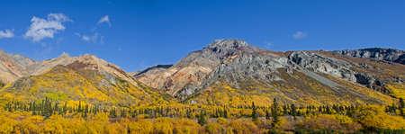 glenn: Sheep Mountain along the Glenn Highway in Alaska Stock Photo