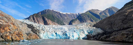 southeast alaska: North Sawyer Glacier in Tracy Arm Fjord, Southeast Alaska