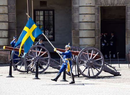 royal guard: Change of the Royal Guard, Stockholm