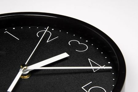 Black clock Stock Photo - 375836