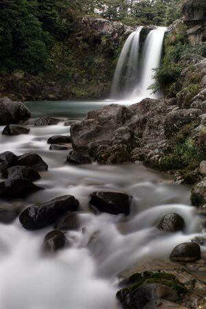 Tawhai falls new zealand Stock Photo - 375839