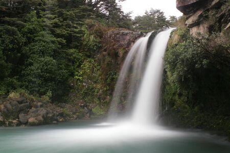 Tawhai falls pool Stock Photo - 375844